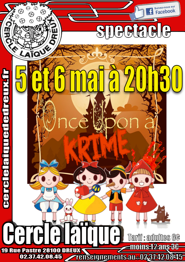 once upon a krime A4