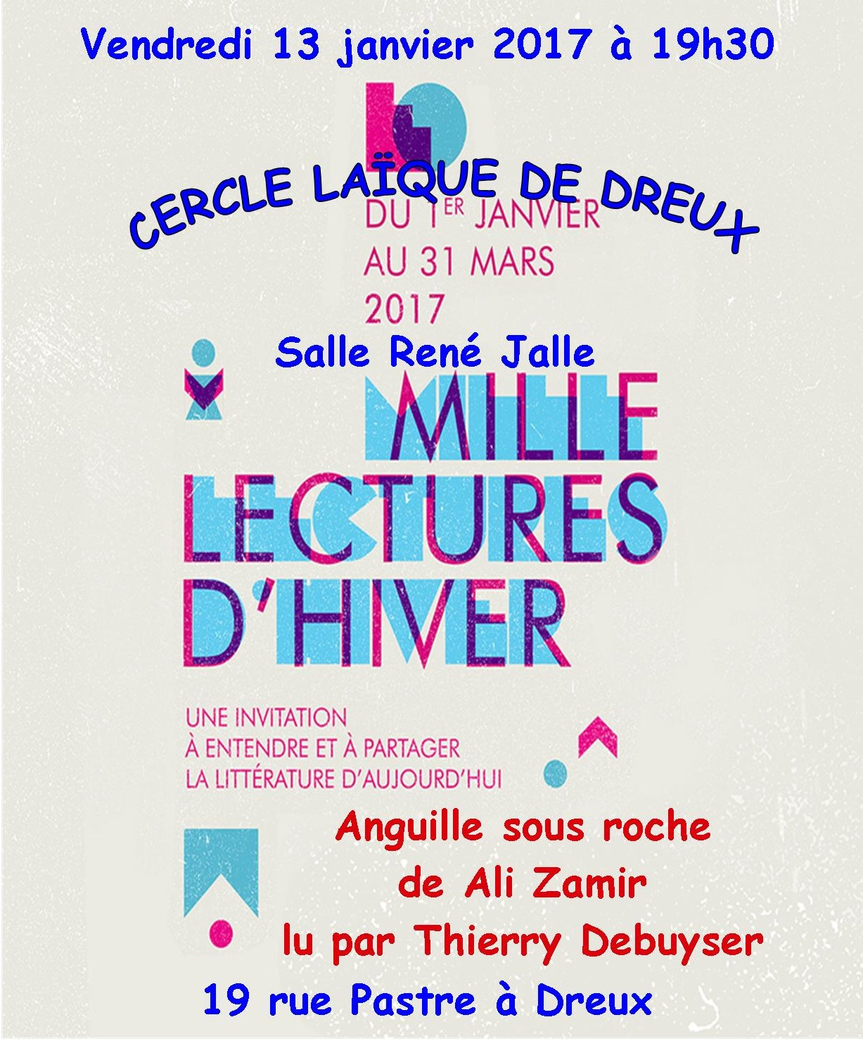 Mille lectures dhiver 2017